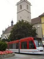 Angerbrunnen/164193/combino-der-linie-2-richtung-messeega Combino der Linie 2 Richtung Messe/ega