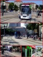 Leipziger Platz/162861/bahnen-auf-der-linie-2-am Bahnen auf der Linie 2 am Leipziger Platz