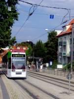 Sparkassen-Finanzzentrum/163009/niederflurbahn-zur-egamesse-an-der-hst Niederflurbahn zur ega/Messe an der Hst Sparkassen-Finanzzentrum 2011